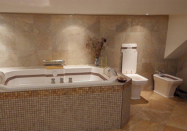 Кафель для ванной видео